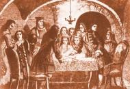 Junta de guerra del'1 de Setembre de 1714,amb la participació d'Antoni Villarroel, Casanova i Basset'