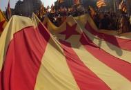 Foto bandera Indeendencia Catalunya